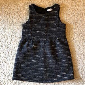 Chloe Baby Girl Tweed Style Black Dress size 4